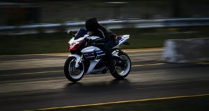 אופנוען - בזמן נסיעה