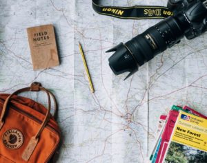 רשימת אלמנטים חשובים לנסיעות